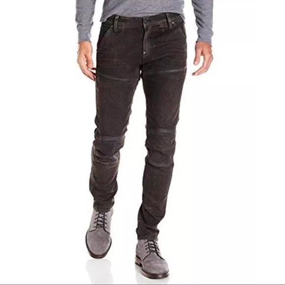 33e0343668a G-Star Jeans | New Black Gray G Star Raw 5620 3d Super Slim | Poshmark